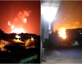 Tấn công bằng tên lửa nhằm vào hàng loạt căn cứ quân sự Syria