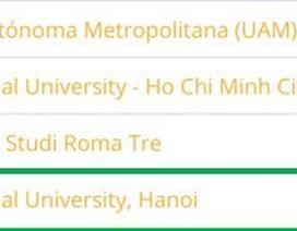 Hai đại học Việt Nam đầu tiên vào nhóm 101-150 đại học hàng đầu thế giới