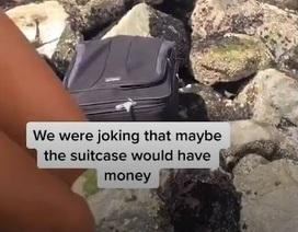 Phát hiện va ly đựng hài cốt trong lúc chơi thám hiểm trên điện thoại