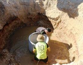 """Nắng nóng kéo dài người dân miền núi  lâm vào cảnh """"khát nước"""" sinh hoạt"""