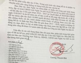 """Vụ """"nhầm"""" đề án 230 người Ơ Đu: Ban Dân tộc Nghệ An thừa nhận thiếu sót"""