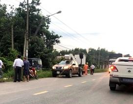 Vụ 2 người bị điện giật thương vong: Người dân tự ý thi công đường điện