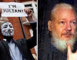 Ông chủ WikiLeaks bị cáo buộc hợp tác với nhóm hacker nổi tiếng Anonymous