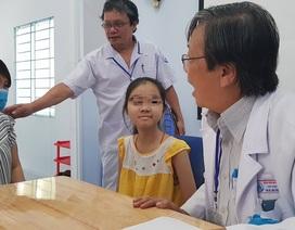Khối u ác tính khiến bé gái mất gần hết 2 bên phổi