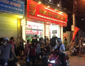 Một tiệm vàng ở Hà Nội bị cướp