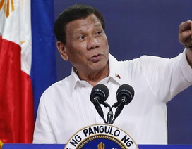 """Tổng thống Philippines cảnh báo những vụ việc """"đáng báo động"""" ở Biển Đông"""