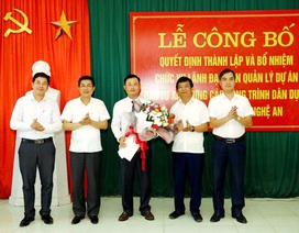 Nghệ An thành lập Ban Quản lý dự án công trình dân dụng và công nghiệp tỉnh