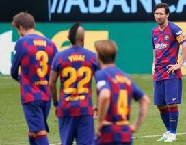Messi không gánh nổi sự xuống dốc của Barcelona?