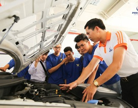 Kỹ thuật ô tô: Sức hút từ ngành công nghiệp mũi nhọn