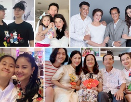 Sao Việt thể hiện tình cảm trong Ngày gia đình