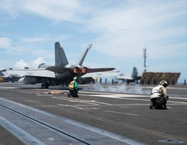 Hai tàu sân bay Mỹ tập trận phối hợp tại biển Philippines