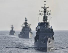 Thông điệp gửi Trung Quốc từ cuộc tập trận hải quân Nhật - Ấn