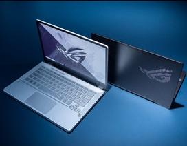 Asus ra mắt laptop dành cho game thủ với màn hình LED hiển thị ở mặt lưng