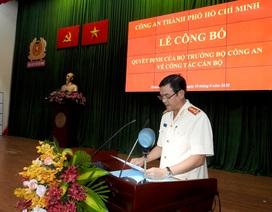 Đại tá Lê Hồng Nam chính thức nhận chức Giám đốc Công an TPHCM