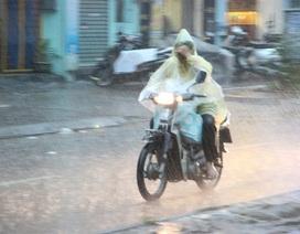 Miền Bắc hạ nhiệt, Hà Nội đón mưa từ sáng sớm