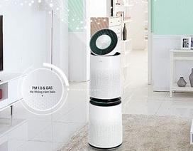 LG giới thiệu máy lọc bụi siêu mịn trong không khí