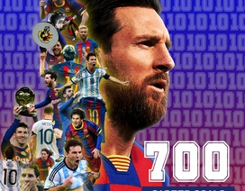 """Messi cán cột mốc """"khủng"""" trong ngày buồn của Barcelona"""