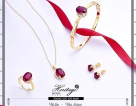 Hồng ngọc ruby - Viên ngọc quý may mắn cho người sinh tháng 7