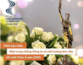 FWD Việt Nam vinh dự nhận giải thưởng uy tín từ HR Asia
