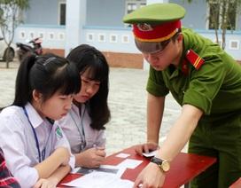 Đến tận trường làm chứng minh thư cho học sinh dân tộc ít người