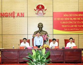 Phó Thủ tướng: Nghệ An cần thay đổi tư duy!