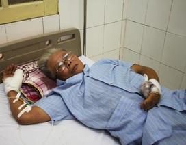 Ông lão gần 70 tuổi bị chém đứt lìa ngón tay ngay tại quán tạp hóa