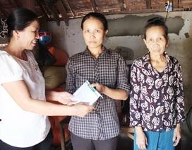Gần 39 triệu đồng đến với gia đình chị Nguyễn Thị Huyên