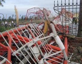Phó Thủ tướng yêu cầu làm rõ vụ tháp truyền hình bị bão quật đổ
