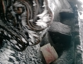 Chùa Đồng lạnh 0 độ C, Yên Tử xuất hiện băng tuyết