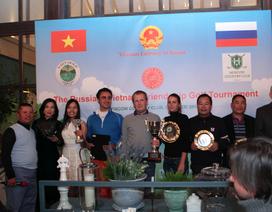 Sắp diễn ra giải golf hữu nghị Việt-Nga tại thủ đô Mát-cơ-va
