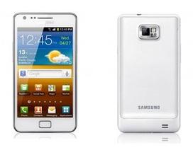 Lộ hình Samsung Galaxy S2 phiên bản màu trắng