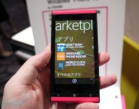 Ngắm điện thoại Windows Phone Mango đầu tiên