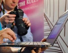 """Siêu laptop """"Ultrabook"""" chuẩn bị """"lên kệ"""", đắt hơn dự đoán"""