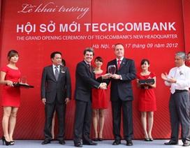 Techcombank khai trương Hội sở tại 191 Bà Triệu