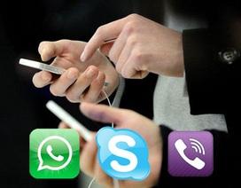 Sẽ có chính sách quản lý các dịch vụ nhắn tin miễn phí Viber, WhatsApp