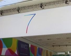 Apple dần vén màn sự xuất hiện của iOS7