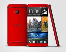 HTC One màu đỏ bán ra thị trường, giá 16,5 triệu đồng