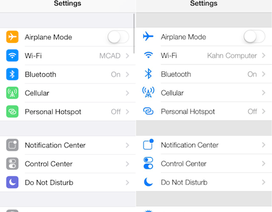 Bản thử nghiệm thứ 5 của iOS 7 xuất hiện, ổn định hơn