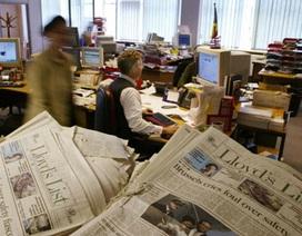 Tờ báo lâu đời nhất thế giới ngừng bản in, chuyển sang online