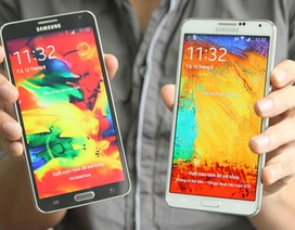 Hình ảnh Galaxy Note 3 xuất hiện sớm tại Việt Nam