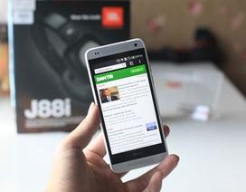 Cận cảnh HTC One Mini chính hãng vừa bán tại Việt Nam