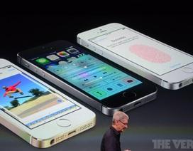 iPhone 5S, iPhone 5C nhiều màu sắc chính thức trình diện