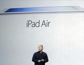 iPad Air nhanh hơn rất nhiều so với iPad 4