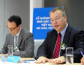 Cựu CEO Nokia: Sẽ chiếm lĩnh thị trường smartphone Việt Nam