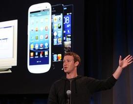 Facebook có gần 1,2 tỷ người dùng hàng tháng
