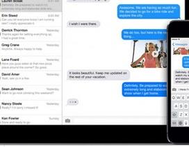 """Apple bị """"tố"""" kiểm soát tin nhắn iMessage của người dùng"""