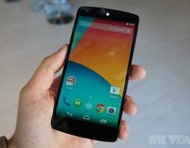 """LG Nexus 5 ra mắt với cấu hình """"khủng"""", chạy Android 4.4 KitKat"""