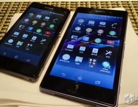 Bản thu nhỏ Sony Xperia Z1S tiếp tục lộ hình ảnh thực tế