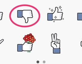 "Facebook đã có nút ""Dislike"""