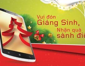 Lenovo khuyến mãi đón Giáng sinh